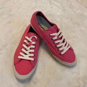New SeaVees Pink Monterey Sneakers shoes sz 8